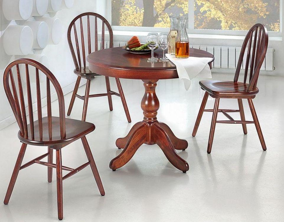 стулья из дерева - фото